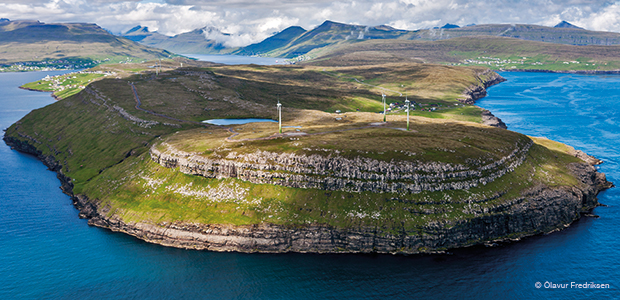 wind turbines Faroe Islands